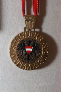 Den ersten Titel eroberte Gogi mit 24 Jahren, als er österreichischer Staatsmeister wurde.