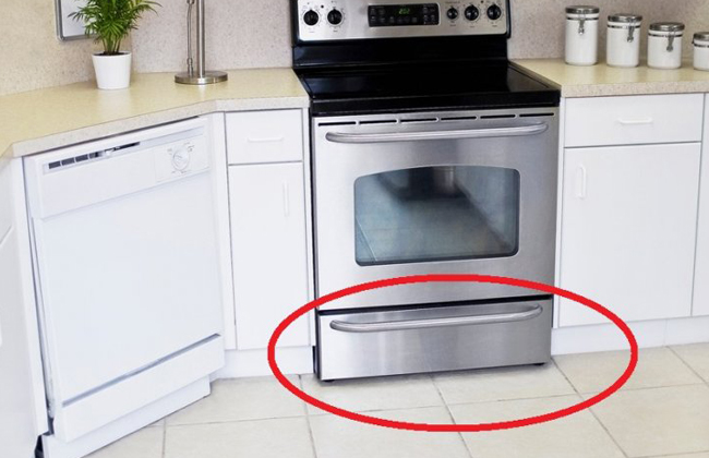 daf r ist die lade unter dem backofen tats chlich gedacht kosmo. Black Bedroom Furniture Sets. Home Design Ideas