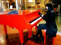 Marina Vesic am Klavir