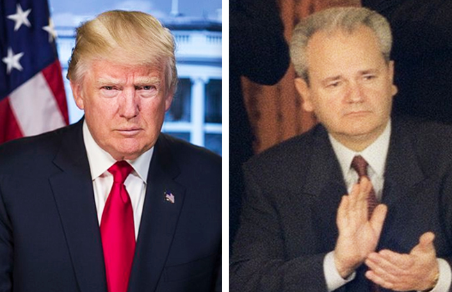 Trump - Milosevic