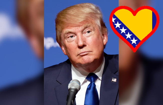 Trump - bosnisches Problem