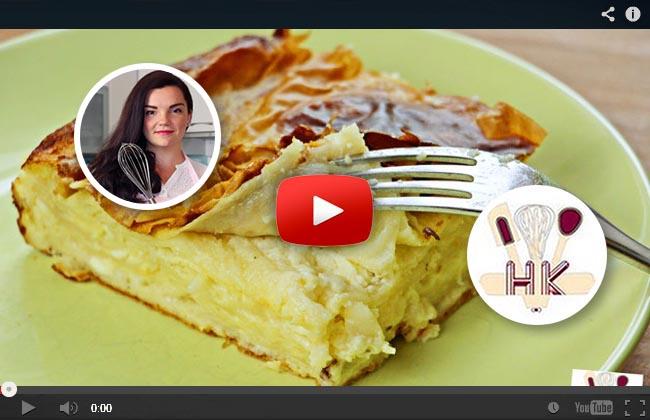 """Hanuma kocht """"Sirnica"""" – Teigblätter gefüllt mit Käse"""