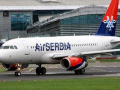 Air Serbia Flugzeug