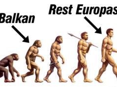 Balkan demokratische Steinzeit