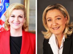 Grabar Kitarovic & Le Pen