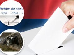 Online-Stimmverkauf Serbien