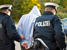Polizei Verhaftung