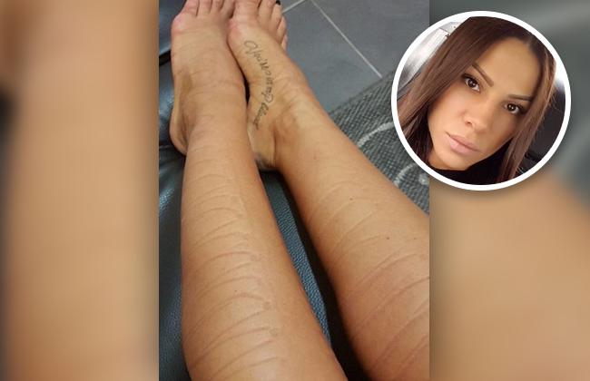 Sandra Afrika - Beine