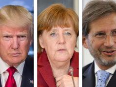 Trump - Merkel - Hahn