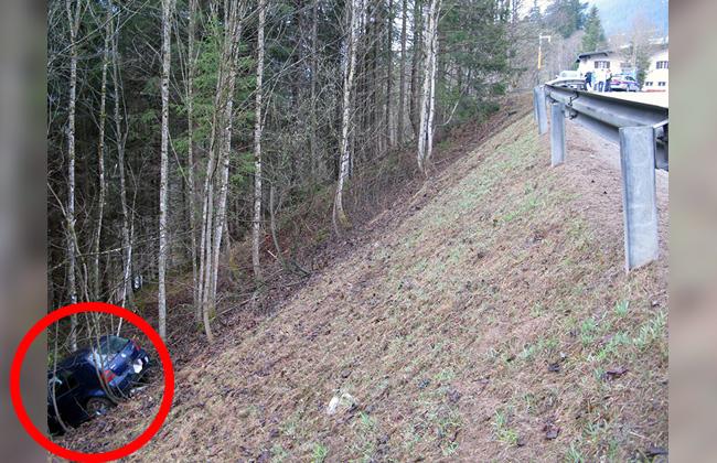 Autounfall PKW Vorarlberg
