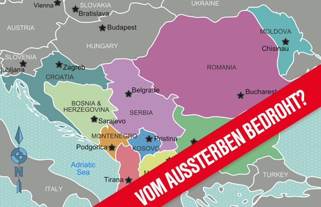 Demographischer Wandel Balkan