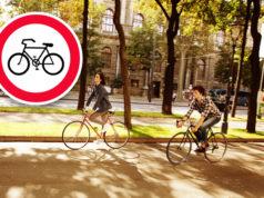 Fahrradverbot in Wien