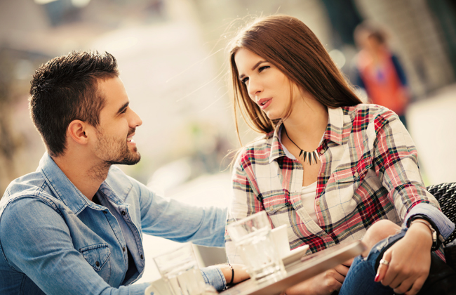 Frauen flirten nicht