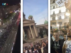 Proteste gegen Vucic