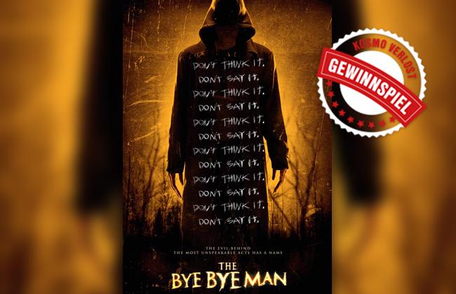 The bye bye man - Gewinnspiel