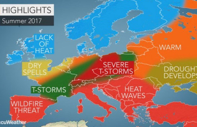 AccuWeather Sommer 2017