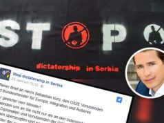 Stop dictatorship in Serbia - Offener Brief