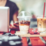Kaffee als Erfrischung für einen langen, heißen Sommer