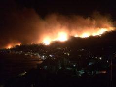 Flammenmeer bei Makarska