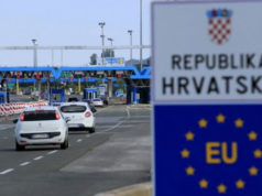 Kroatien Grenze SIS