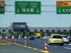 Mautstation Autobahn Kroatien