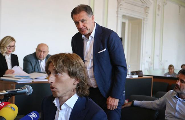 Modric und Mamic - Skandal