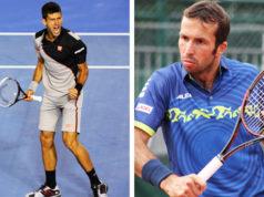 Radek Stepanek und Novak Djokovic