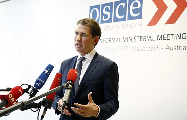 Sebastian Kurz - Umfrage zu Nationalratswahlen