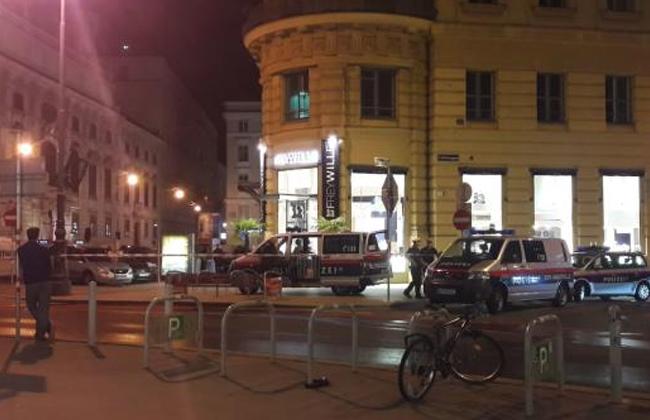 Bombenalarm Wiener Innenstadt Gluckgasse