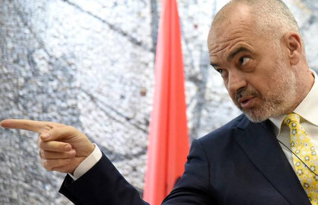 Edi Rama - Premier Albaniens