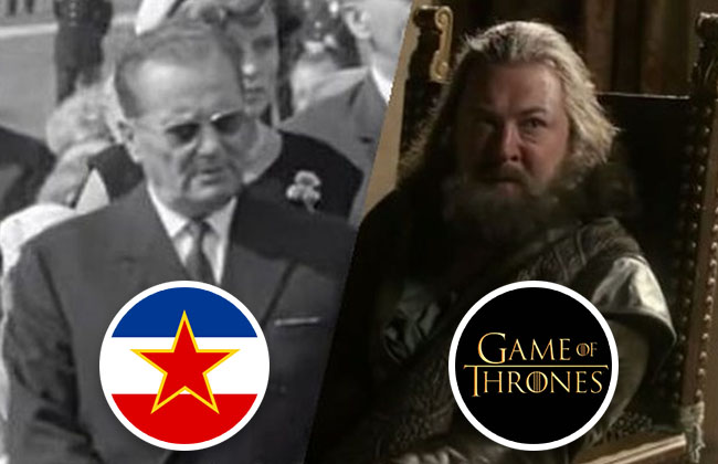 Jugoslawien - Game of Thrones