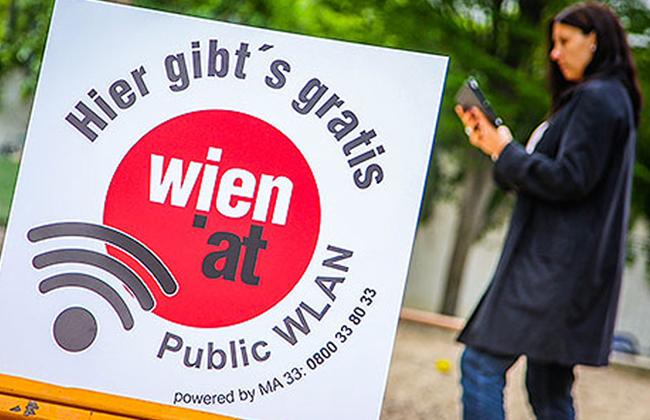 WLAN in Wien