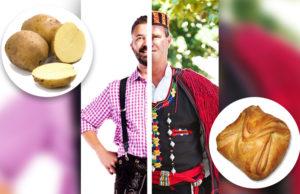 Krompir - Golatsche Wiener halbe Slawen