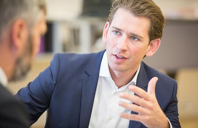 Sebastian Kurz - Interview Nationalratswahl 1