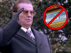 Tito-Platz in Zagreb nun Geschichte