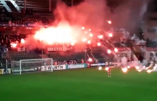 Bosnische Fussballfans Setzen Stadion In Brand Video Kosmo