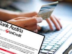 Bank Austria Betrug E-Mail