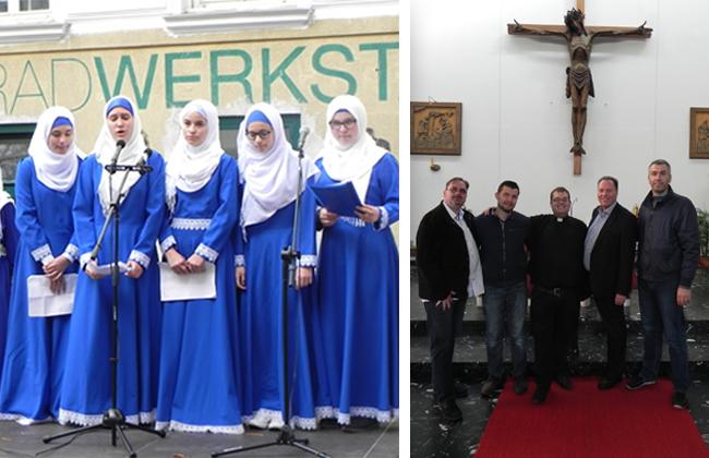 Ottakring - Begegnung zweier Weltreligionen