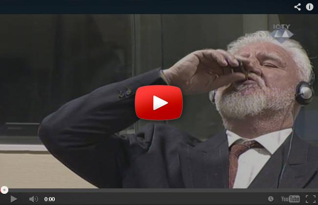 Praljak vergiftet sich in Den Haag