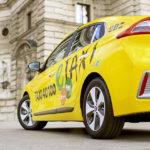 Taxi 40 100: Umweltfreundlich unterwegs, ganz ohne Preisaufschlag