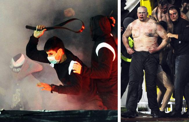 Ausschreitungen bei Belgrad-Derby - 17 Verletzte