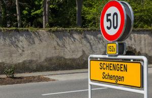 Schengenzone Kroatien