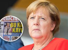 Angela Merkel als Hitler