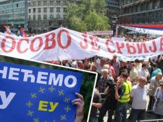 Kosovo-Serbien-Meinungsumfrage