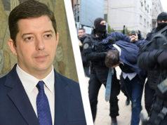Marko Djuric - Festnahme Mitrovica