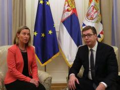 Mogherini in Belgrad