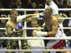 Veljko - erster Profiboxkampf