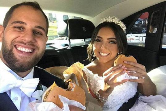 Brautpaar-Mc-Donalds-Burger
