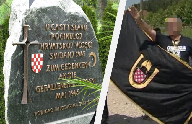 Hitlergruss-in-Bleiburg-Anklage-Kroate