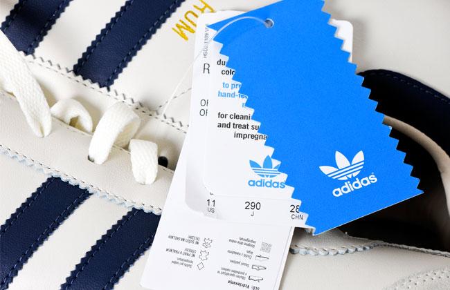 Das Adidas-Logo und die Bedeutung der drei Streifen - KOSMO